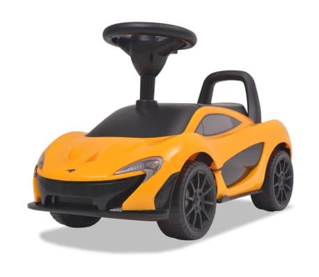 vidaXL Coche correpasillos McLaren P1 amarillo