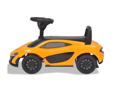 vidaXL Samochód jeździk McLaren P1, żółty[2/8]