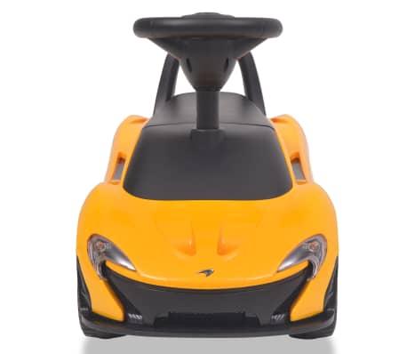 vidaXL Samochód jeździk McLaren P1, żółty[3/8]