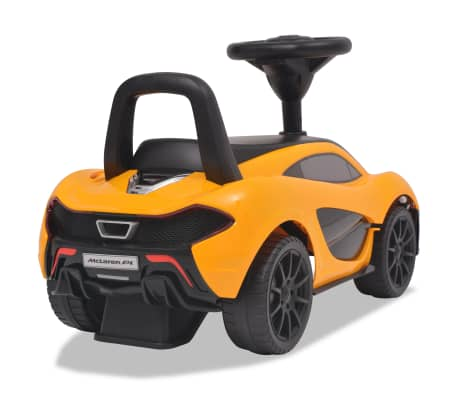 vidaXL Samochód jeździk McLaren P1, żółty[4/8]