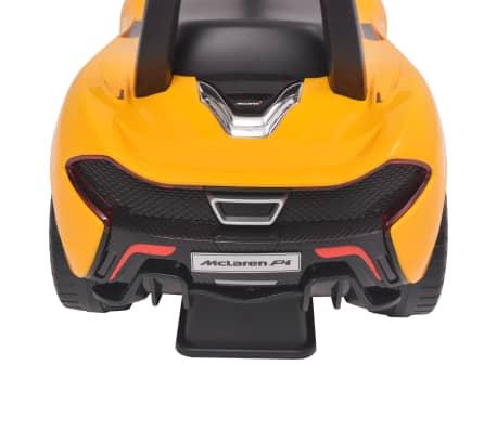 vidaXL Samochód jeździk McLaren P1, żółty[5/8]