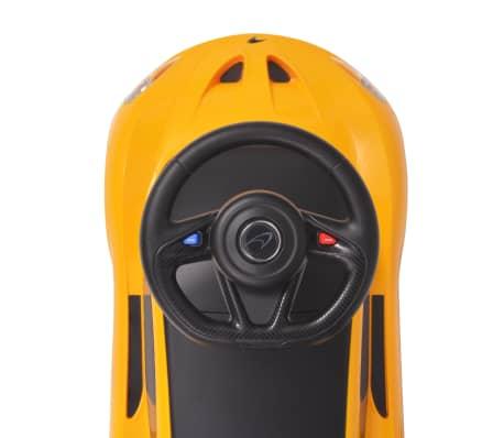 vidaXL Samochód jeździk McLaren P1, żółty[8/8]