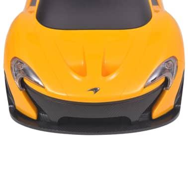 vidaXL Samochód jeździk McLaren P1, żółty[6/8]