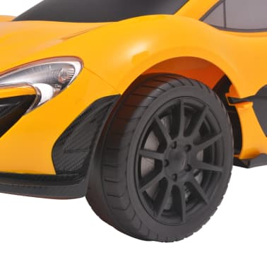 vidaXL Samochód jeździk McLaren P1, żółty[7/8]
