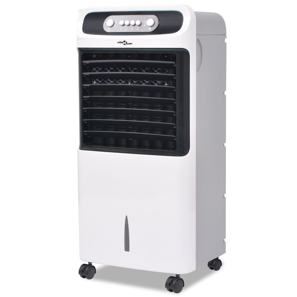 vidaXL Přenosný chladič vzduchu 80 W 12 l 496 m³/h