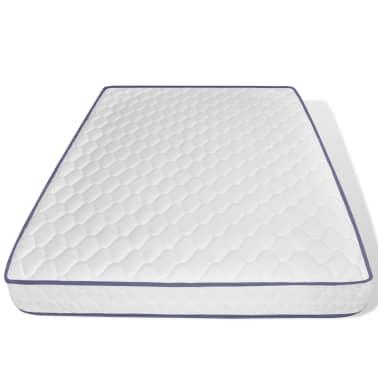 vidaxl doppelbett mit memory schaum matratze eiche massiv 140x200 cm g nstig kaufen. Black Bedroom Furniture Sets. Home Design Ideas