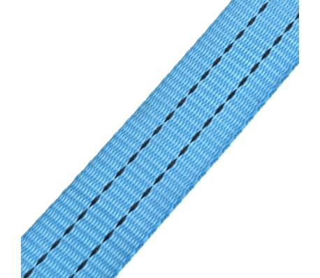 vidaXL Reketo tvirtinamieji dirželiai, 4vnt., 2t., 6mx38mm, mėlyni[6/6]
