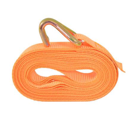 vidaXL Correas de sujeción de trinquete 10 uds 0,4 T 6mx25mm naranja[3/5]
