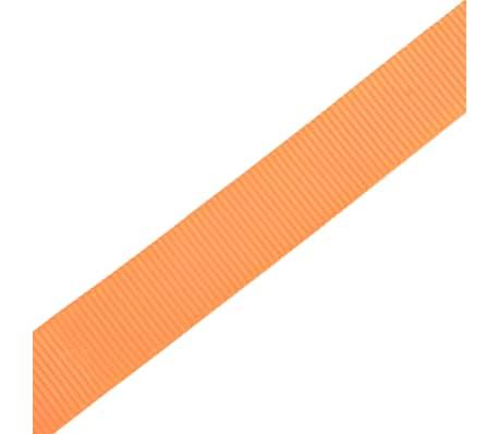 vidaXL Correas de sujeción de trinquete 10 uds 0,4 T 6mx25mm naranja[5/5]