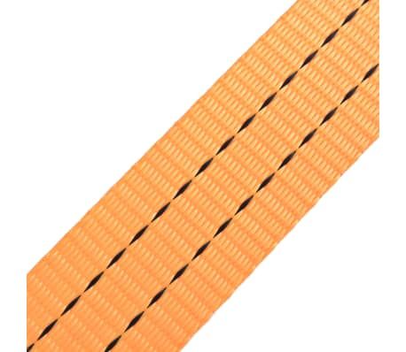 vidaXL Spanbanden 1 ton 6mx38mm oranje 4 st[5/5]