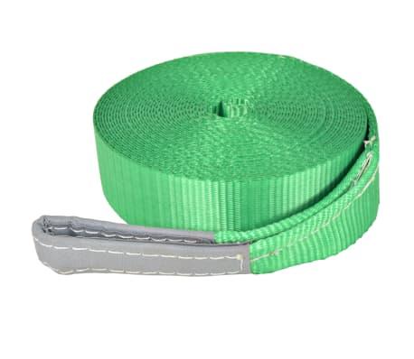 vidaXL Corde lâche pour slackline 15 m x 50 mm 150 kg Vert[3/6]