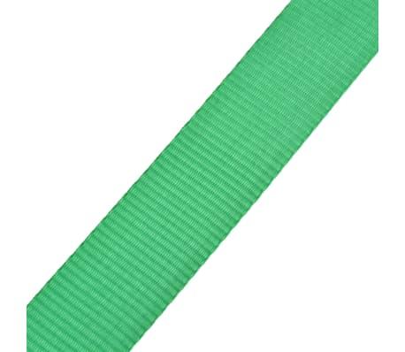 vidaXL Corde lâche pour slackline 15 m x 50 mm 150 kg Vert[5/6]