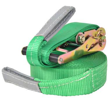 vidaXL Corde lâche pour slackline 15 m x 50 mm 150 kg Vert[2/6]