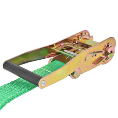 vidaXL Corde lâche pour slackline 15 m x 50 mm 150 kg Vert[4/6]