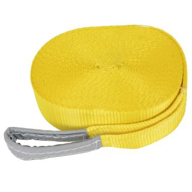 vidaXL Corde lâche pour slackline 15 m x 50 mm 150 kg Jaune[3/6]