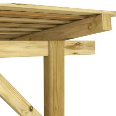 acheter vidaxl abri de stockage du bois de chauffage pour. Black Bedroom Furniture Sets. Home Design Ideas
