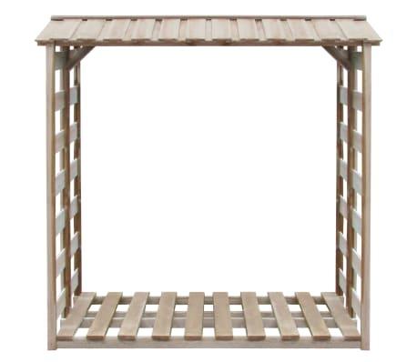 vidaXL Șopron lemne de foc, 150 x 100 x 176 cm, lemn de pin tratat FSC[2/3]