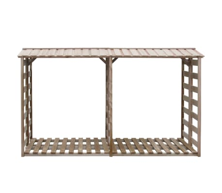 acheter vidaxl abri de stockage du bois de chauffage. Black Bedroom Furniture Sets. Home Design Ideas
