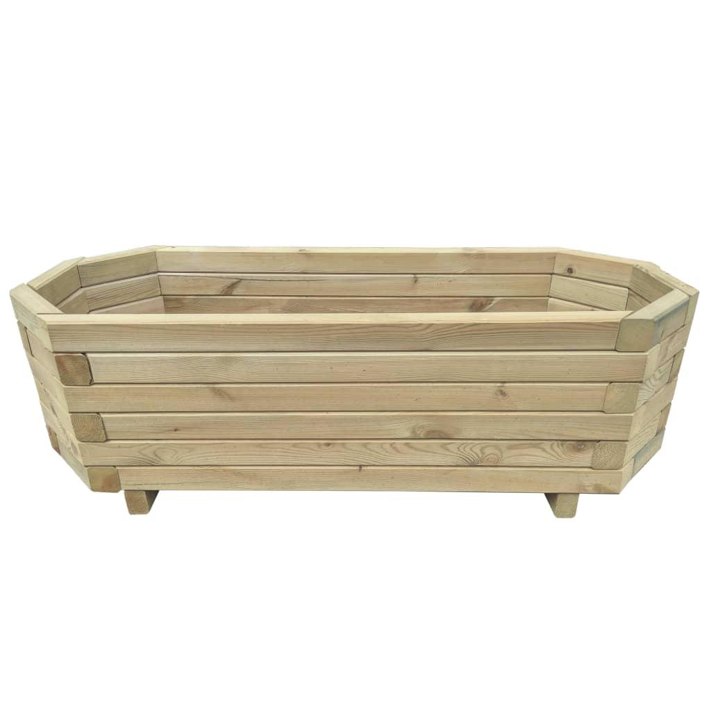 vidaXL Strat înălțat de grădină, 80 x 32 x 31 cm, lemn de pin tratat vidaxl.ro
