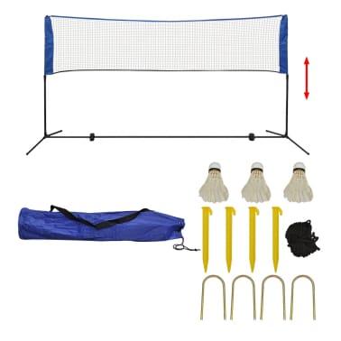 vidaXL Komplet mreže za badminton s perjanicami 300x155 cm[1/11]