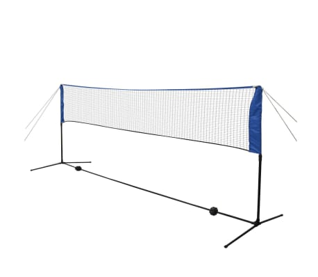 vidaXL Komplet mreže za badminton s perjanicami 300x155 cm[3/12]