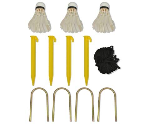 vidaXL Komplet mreže za badminton s perjanicami 300x155 cm[11/12]