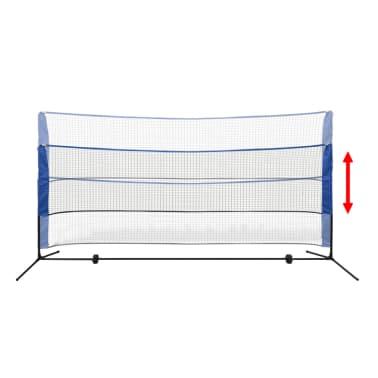 vidaXL Komplet mreže za badminton s perjanicami 300x155 cm[5/12]