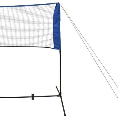 vidaXL Komplet mreže za badminton s perjanicami 300x155 cm[5/11]