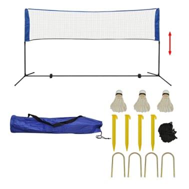 vidaXL Komplet mreže za badminton s perjanicami 300x155 cm[1/12]