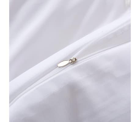 vidaxl 3 tlg bettw sche set wei 200x200 60x70 cm g nstig kaufen. Black Bedroom Furniture Sets. Home Design Ideas