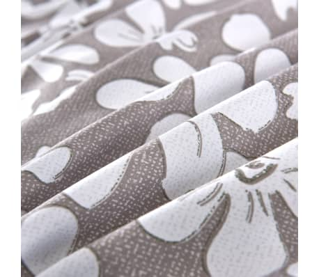 vidaXL Funda nórdica 2 piezas estampado de flores 135x200/80x80cm[2/4]