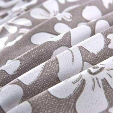 vidaXL Set husă pilotă, 3 piese, imprimeu floral, 200 x 200/80 x 80 cm[2/4]