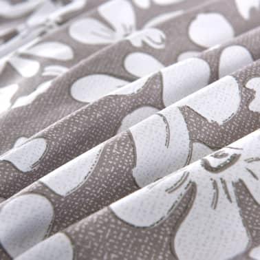vidaXL Set husă pilotă, 3 piese, imprimeu floral, 200 x 200/60 x 70 cm[2/4]