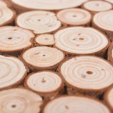 vidaXL Beistelltisch Echtholz 60,8 x 60,8 x 34,5 cm[4/6]