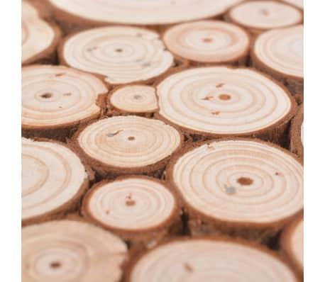 vidaXL Wandtafel 100,5x36,8x75 cm echt hout[4/6]