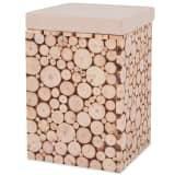 vidaXL Kruk 30x30x40 cm echt hout