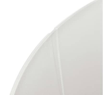 vidaXL Eetkamerstoelen 4 st kunststof wit[5/6]
