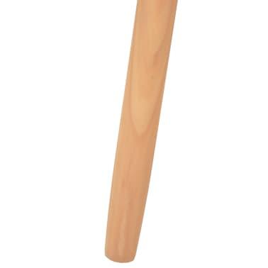 vidaXL Ensemble de tables basses 2 pcs Bois de pin massif Noir[10/12]
