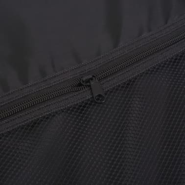 vidaXL 3 Piece Soft Case Trolley Set Red[11/11]
