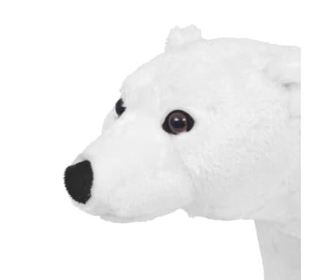 vidaXL Plüschtier Stehend Eisbär Weiß XXL[3/4]