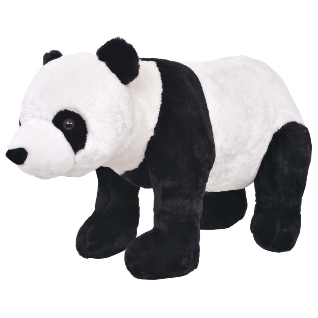 Stojící plyšová hračka, panda, černobílá, XXL