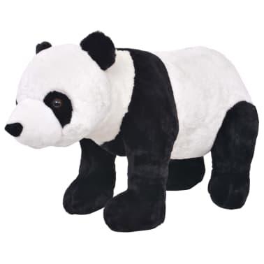 vidaXL Plüschtier Stehend Panda Schwarz und Weiß XXL[1/4]