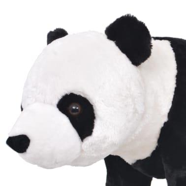 vidaXL Plüschtier Stehend Panda Schwarz und Weiß XXL[3/4]