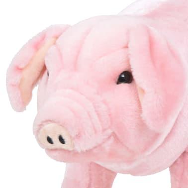 vidaXL Pastatomas pliušinis žaislas paršelis, rožinis, XXL[3/4]