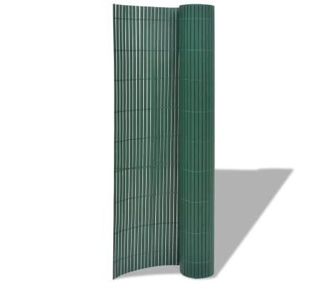 vidaXL Double-Sided Garden Fence Privacy Screen Barrier Multi Size Colours