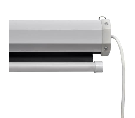 vidaXL Écran de projection électrique avec télécommande 160x90 cm 16:9[4/5]