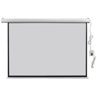 vidaXL Écran de projection électrique avec télécommande 160x90 cm 16:9[1/5]