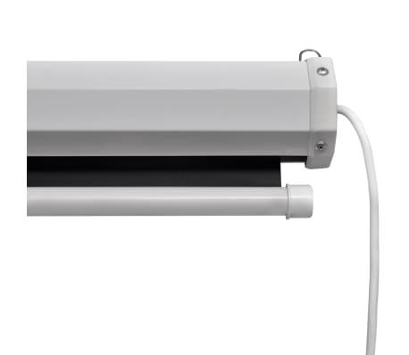 vidaXL Прожекционен екран с дистанционно управление, 160x160 см, 1:1[3/5]