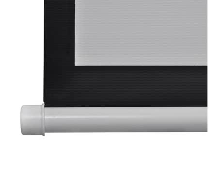 vidaXL Прожекционен екран с дистанционно управление, 160x160 см, 1:1[4/5]