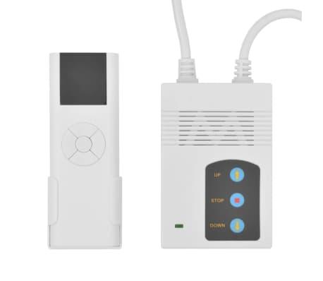 vidaXL Sähkökäyttöinen valkokangas kaukosäätimellä 160x160 cm 1:1[5/5]